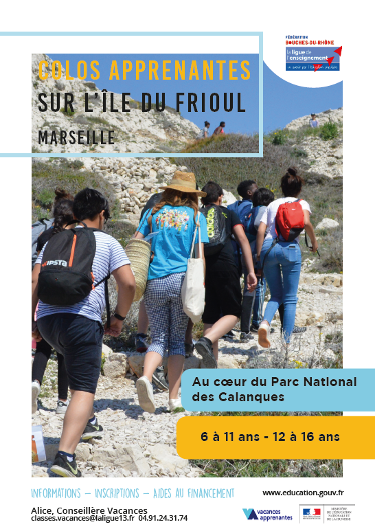 colos apprenantes frioul flyer couv